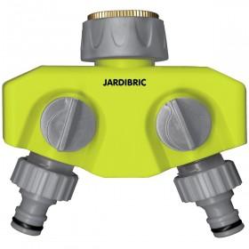Sélecteur plastique 2 sorties JARDIBRIC