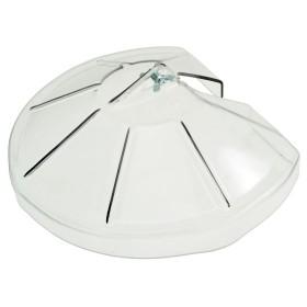 Couvercle transparent pour protection anti-projection