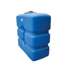 Cuve aérienne de récuperation d'eau de pluie horizontale compact 2000L RENSON