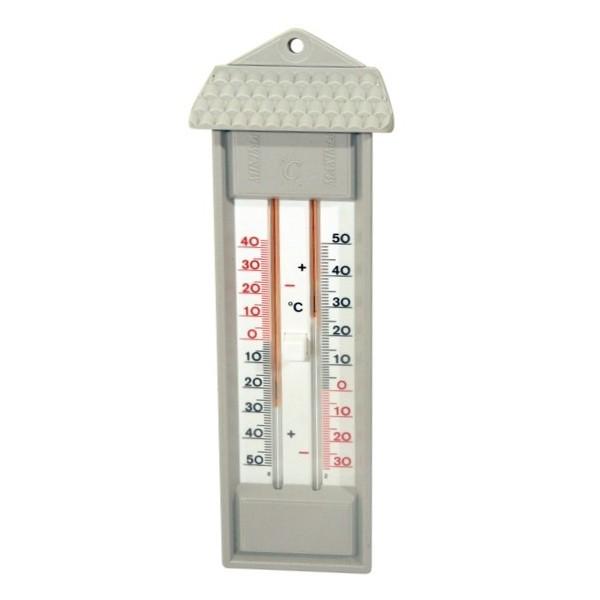 Thermomètre Mini-Maxi sans mercure 23 cm