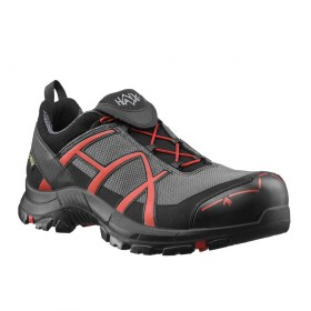 Chaussure Black Eagle S 40 Low Gris/Rouge HAIX