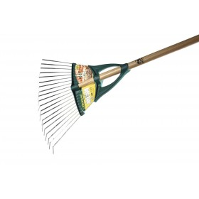 Balai à gazon Xfil dents plates 20 dents Em bois 1m50 LEBORGNE