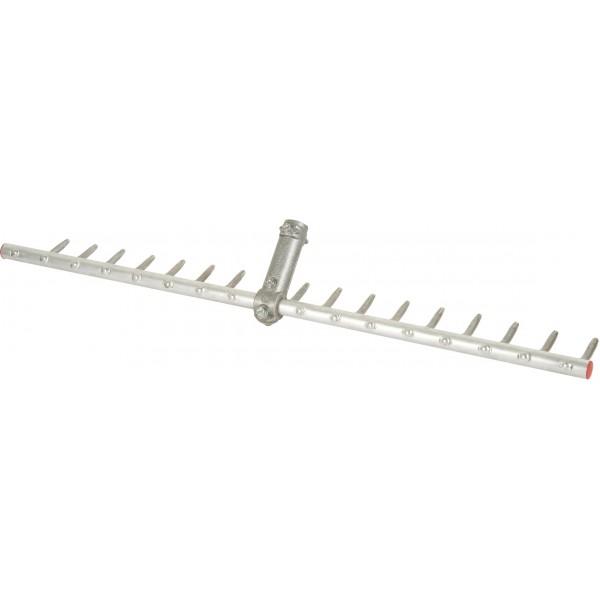 Râteau Aluminium 17 dents Em bois 1m50 POLET