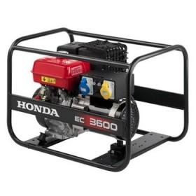 Groupe électrogène de chantier HONDA EC 3600