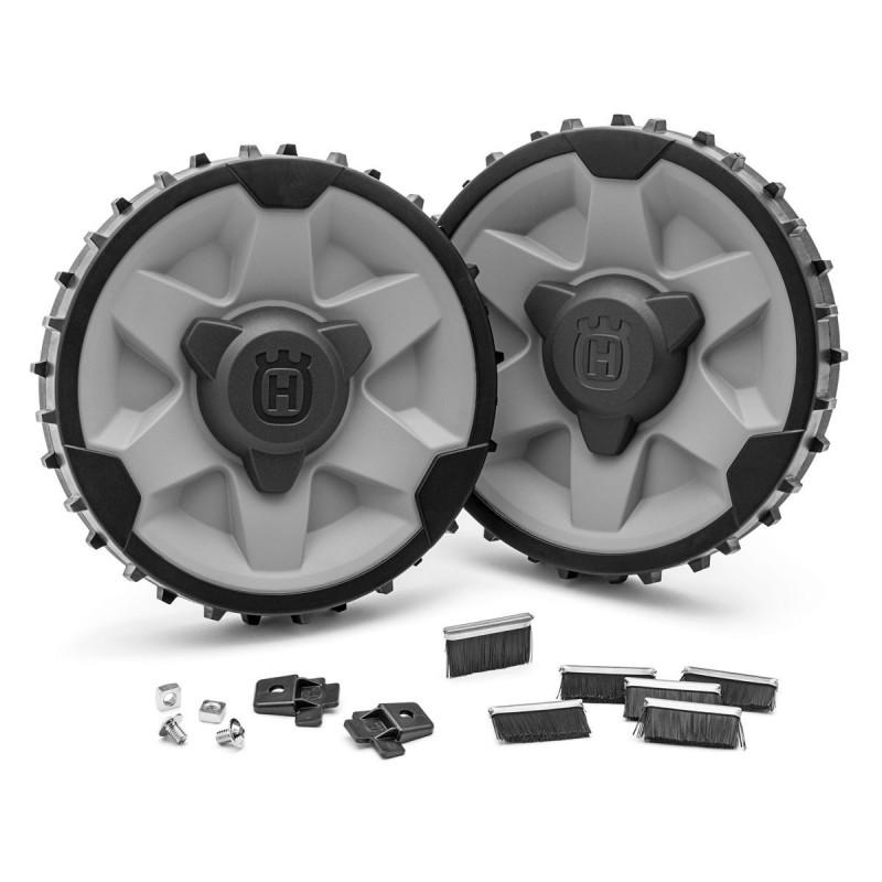 kit roues terrain pentu accident pour robots 310 315. Black Bedroom Furniture Sets. Home Design Ideas