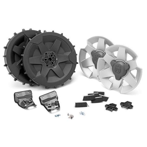 Kit roues terrain pentu/accidenté pour robots 310 & 315 HUSQVARNA