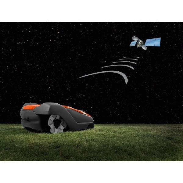 Robot tondeuse AM550 PRO HUSQVARNA livré sans kit d'installation