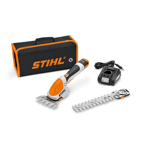 Sculpte-haies à batterie HSA25 STIHL livré avec chargeur et batterie