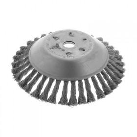 Tête fils générique brosse désherbage diamètre 200 alésage 25 BRM20025