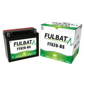BATTERIE FTX20-BS ACIDE SEPARE (FOURNI) 12V 18.9 Ah 175-87-155 + / -