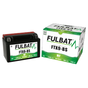 BATTERIE FTX9-BS ACIDE SEPARE (FOURNI) 12V 8.4 Ah 150-87-105 + / -