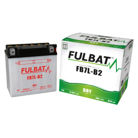 BATTERIE FB7L-B2 ACIDE SEPARE (FOURNI) 12V 8.4 Ah 135-75-133 - / +