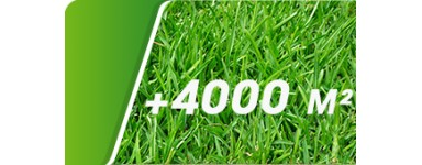 Supérieur à 4000 m²