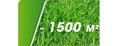 Jusqu'à 1500 m²