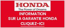 Garantie Honda