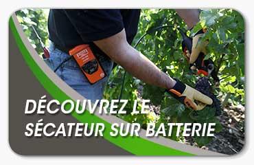 sécateur batterie