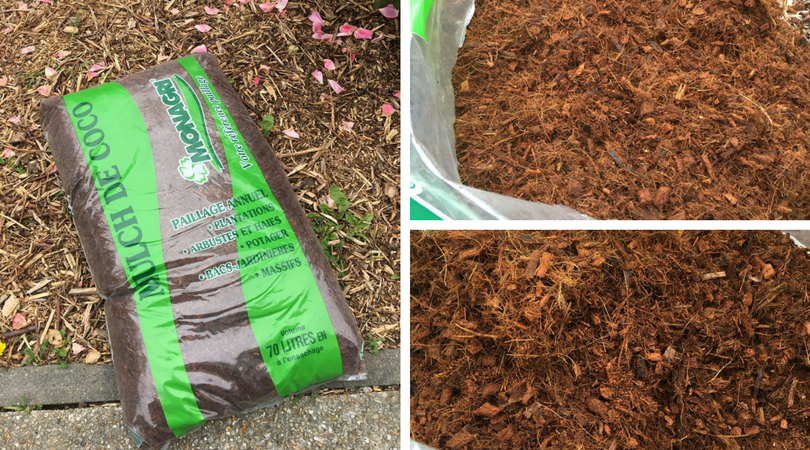 Paillage naturel Mulch coco