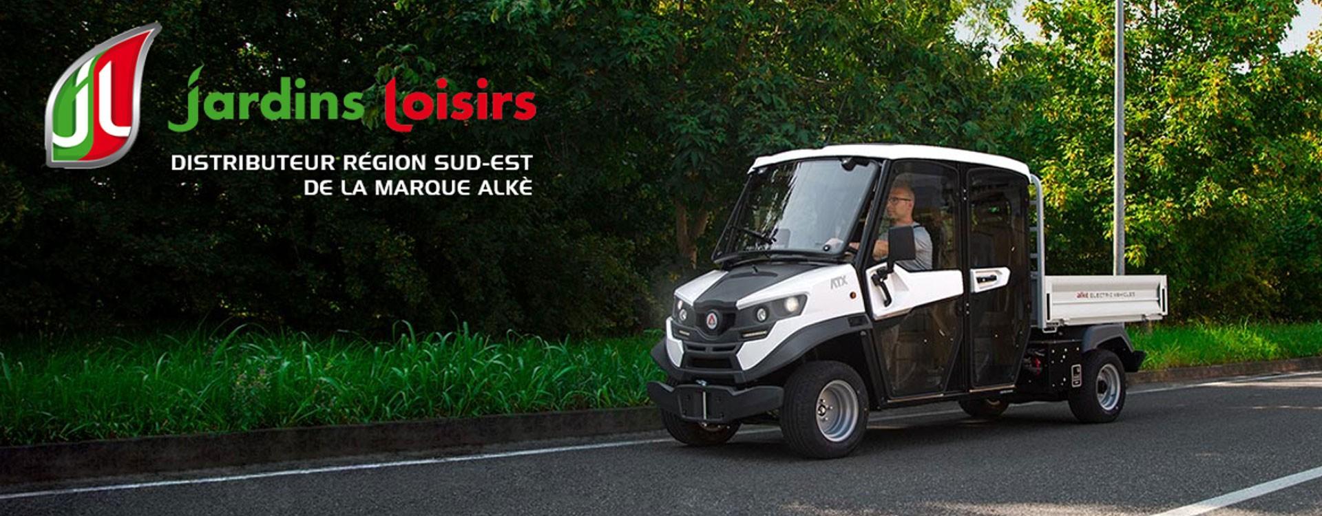 Jardins Loisirs 69 devient distributeur des véhicules ALKE dans la région SUD EST